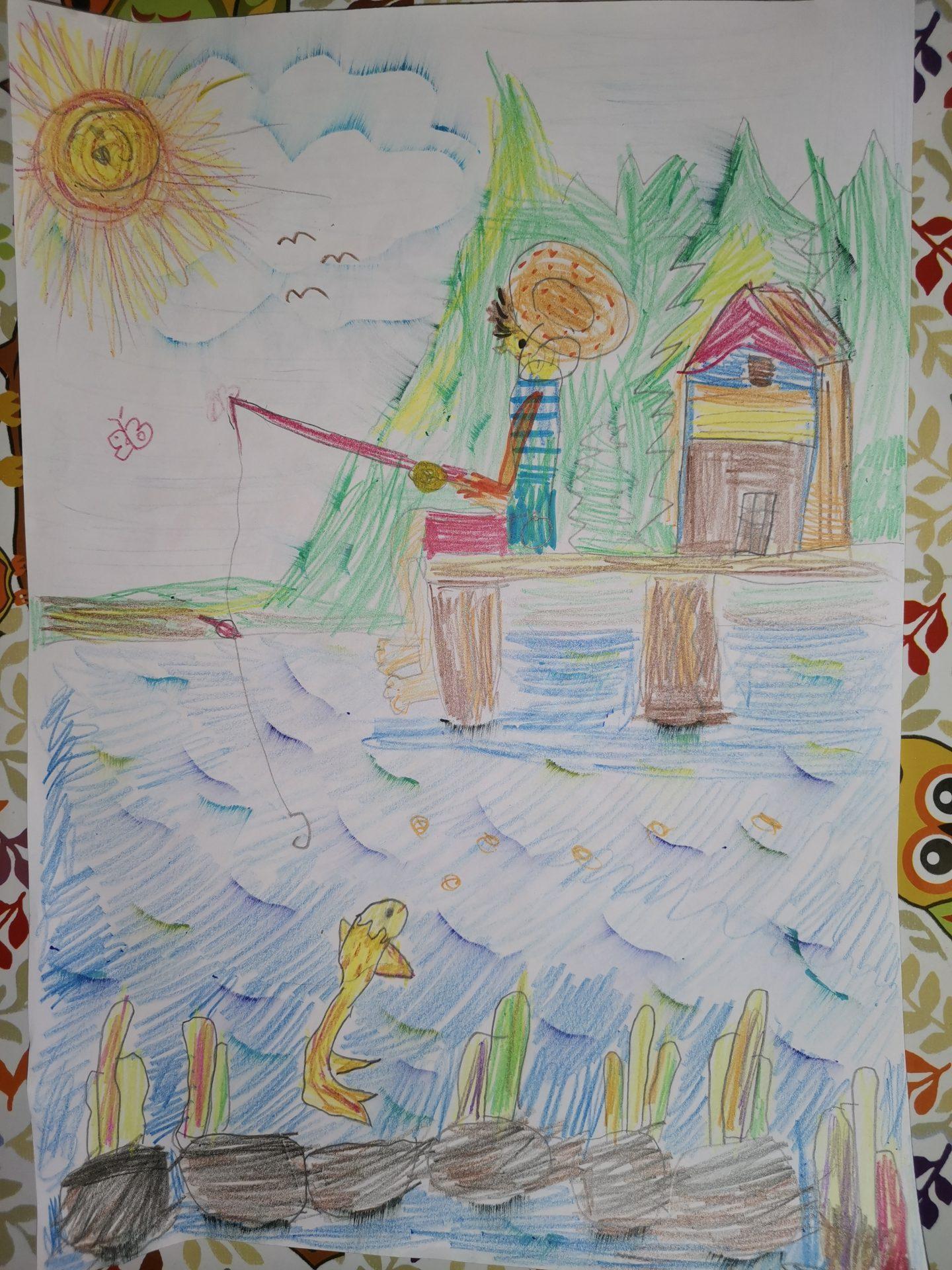 Рибарят и златната рибка - Константин Шопов