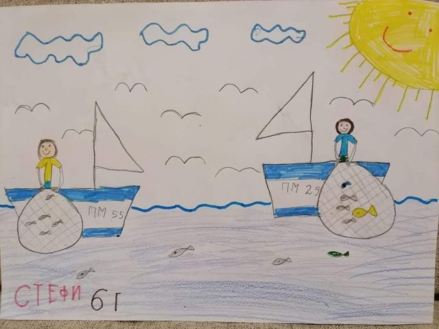 Рибарят и златната рибка - Стефани Тодорова
