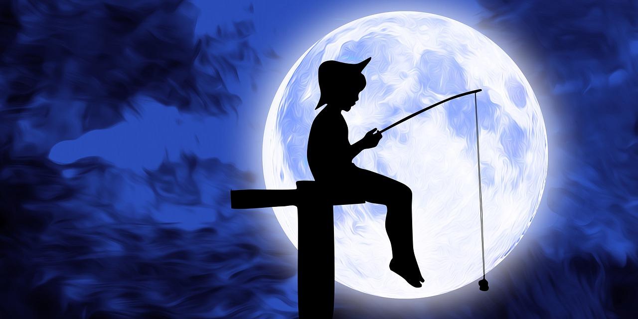 любителски риболов през тъмната част на денонощието