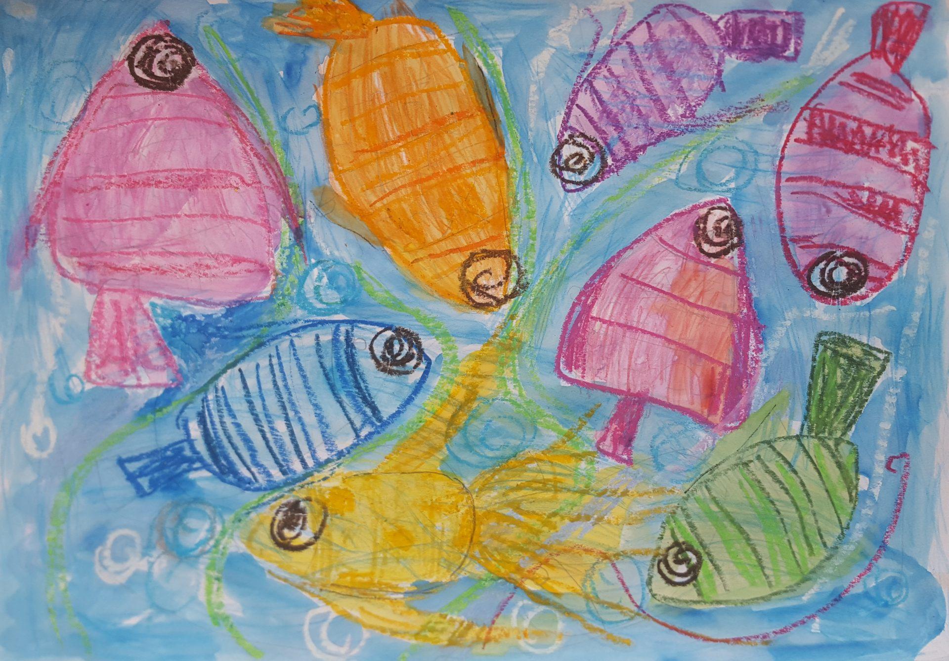 """Весела Йорданова Димитрова - 5 години - """"Когато рибките танцуват"""""""