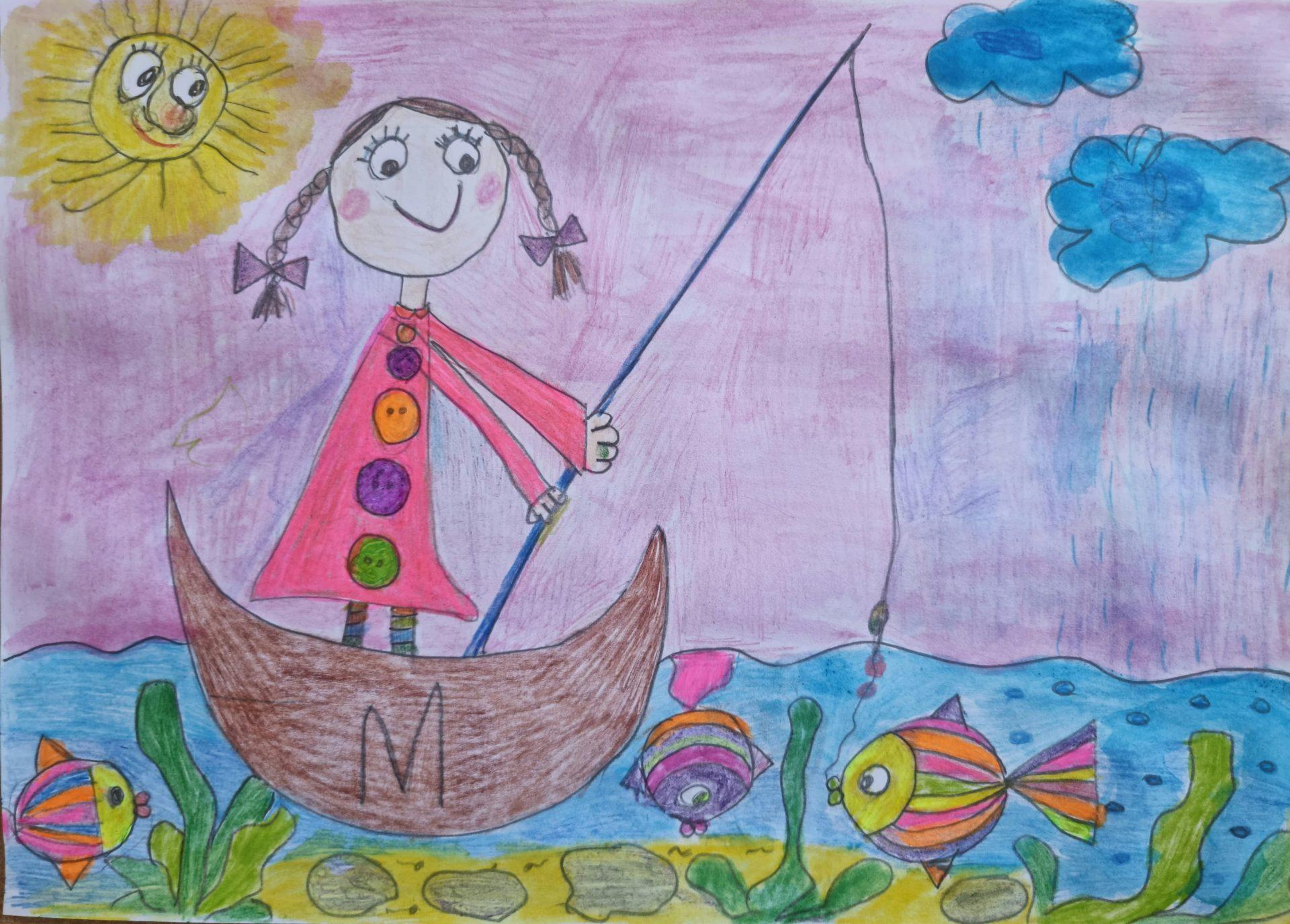 """Мария Георгиева Георгиева - 5 години - """"Златна рибка ще си хвана"""""""