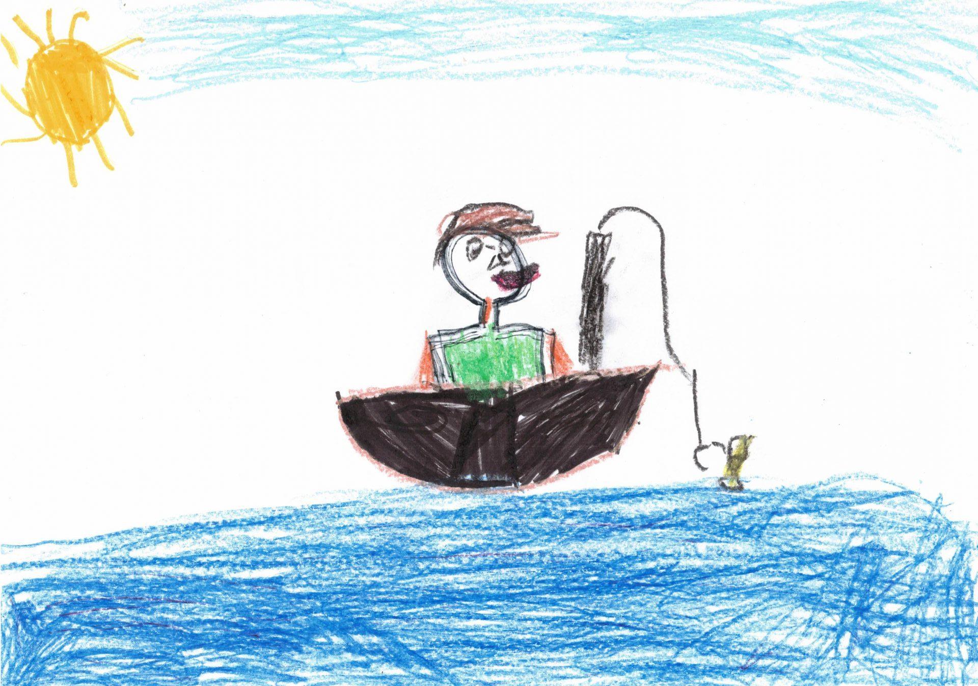 Рибарят и златната рибка - Ивелина Грозданова Грозданова