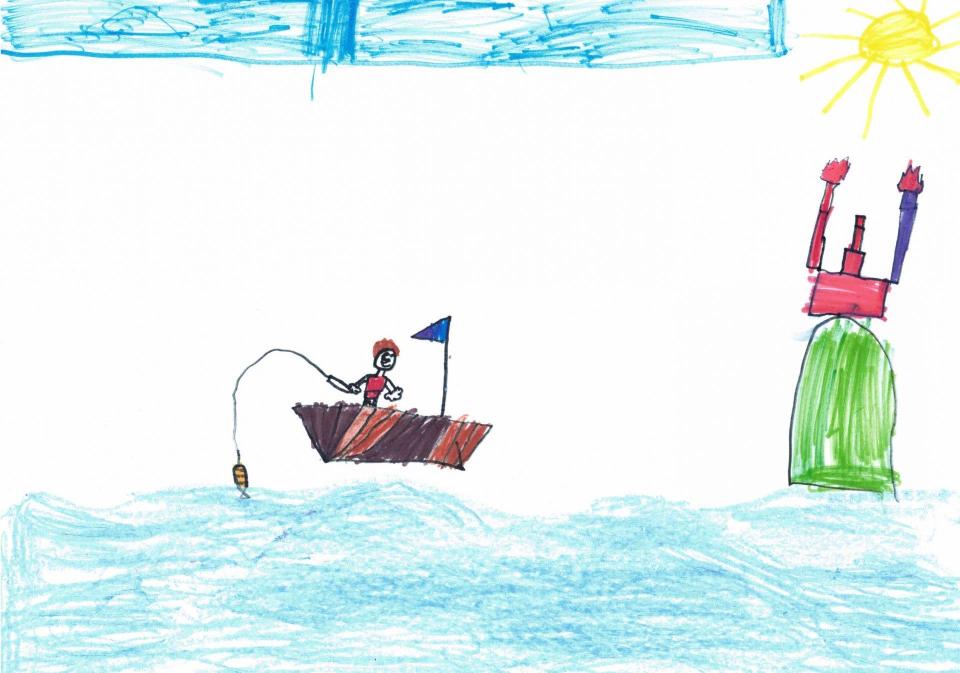 Рибарят и златната рибка - Иван Георгиев Иванов
