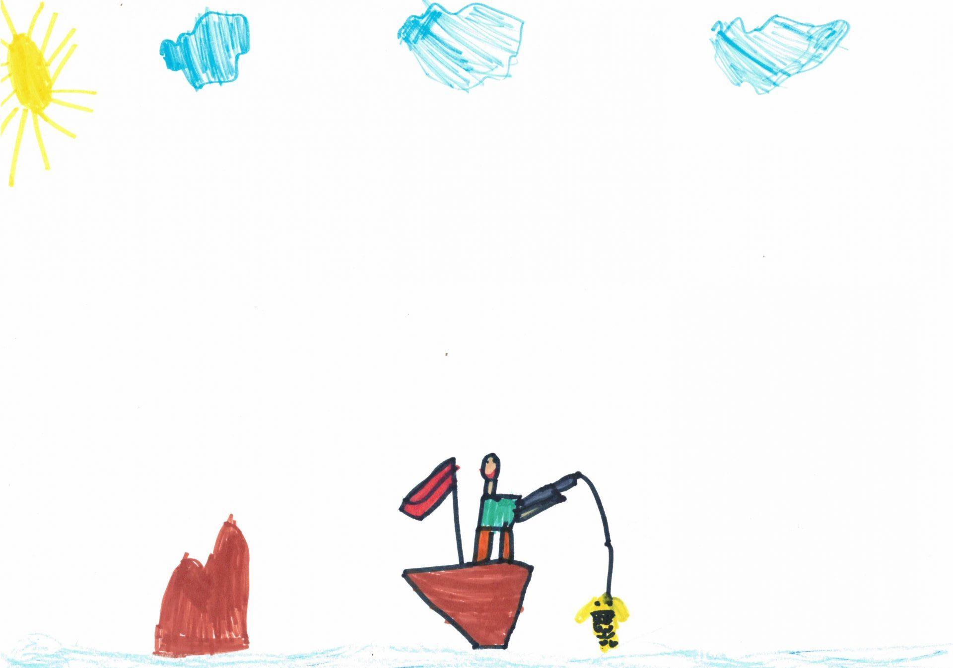 Рибарят и златната рибка - Калоян Мариов Попов