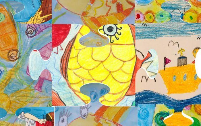 Резултати от конкурса за детска рисунка: Рибарят и златната рибка